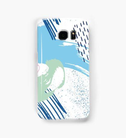 Polo Blue Artistic Abstract Brush Samsung Galaxy Case/Skin