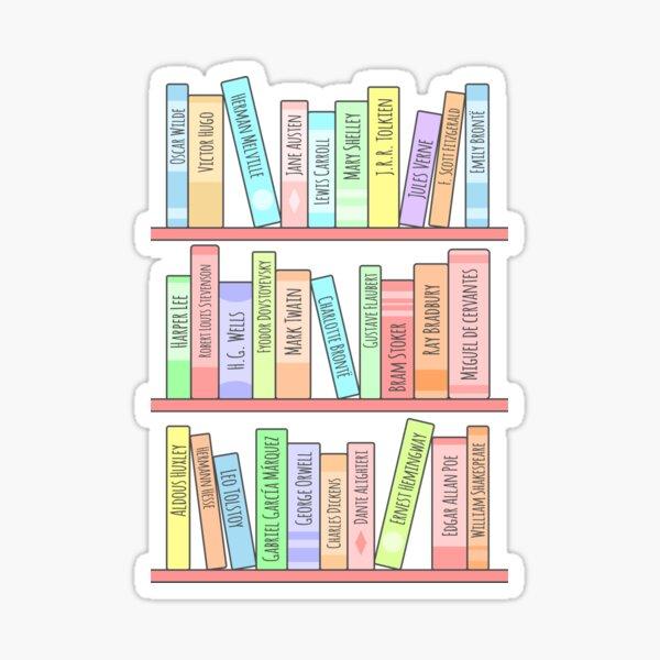 Classics Bookshelf Sticker