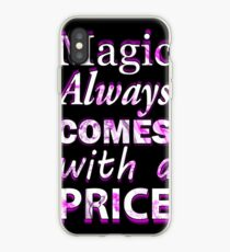 Once Upon A Time: Magic Always Comes With A Price - White iPhone Case