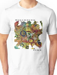LOVE HEART STEAMPUNK FASHION STEAMPUNK TIME QUOTE Unisex T-Shirt