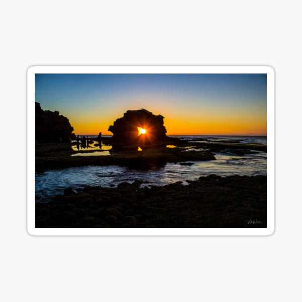 Bridgewater Bay, Blairgowrie, Mornington Peninsula, Victoria, Sticker
