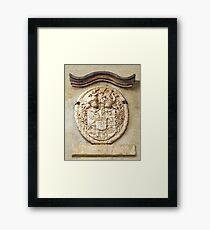 Genetti Family Coat-of-Arms Framed Print
