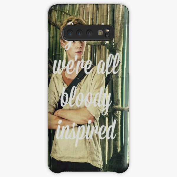 Great, we're all bloody inspired - The Maze Runner Samsung Galaxy Snap Case