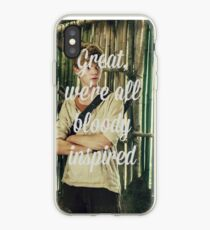 Great, we're all bloody inspired - The Maze Runner iPhone Case