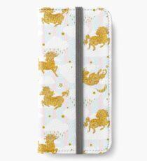 Unicorn sky dance iPhone Wallet/Case/Skin