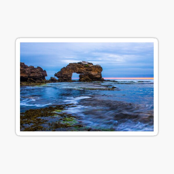 Bridgewater Bay, Blairgowrie, Mornington Peninsula, Victoria, Australia Sticker