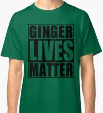 Heritage Ginger Lives Matter Classic T-Shirt