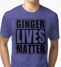Heritage Ginger Lives Matter Tri-blend T-Shirt