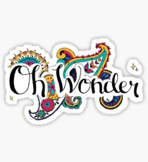 Oh Wonder - Drawing Sticker