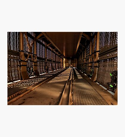 Inside a Car Carrier Photographic Print