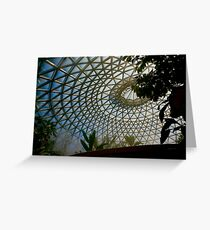 Inside the Glasshouse Greeting Card