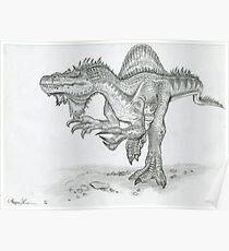 Spinosaurus Poster