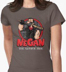 Negan The Savior Man Womens Fitted T-Shirt