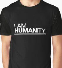 I AM HUMAN.ity Graphic T-Shirt