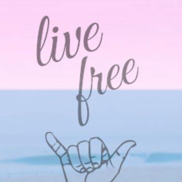 Live Free Pastel by fallingfar