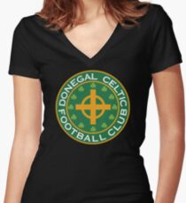 Donegal Celtic Women's Fitted V-Neck T-Shirt