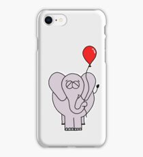 The Elephant And His Balloon iPhone Case/Skin