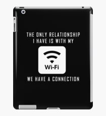 Single Pun Joke Funny Wifi Joke Graphic Humor  iPad Case/Skin