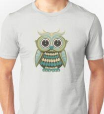 Star Eye Owl - Green 2 Unisex T-Shirt