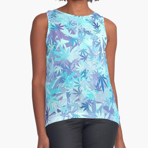 Marijuana Cannabis Weed Pot Cool Breeze Sleeveless Top