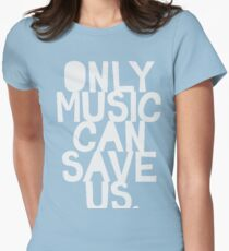 Only Music Womens Fitted T-Shirt