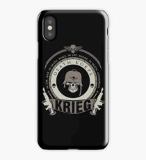 KRIEG - BATTLE EDITION iPhone Case/Skin