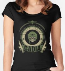 CADIA - BATTLE EDITION Women's Fitted Scoop T-Shirt