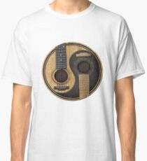 Bass Guitar T Shirt - Music Pulse, Notes, Clef, Frequency, Wave, Sound, Dance Classic T-Shirt