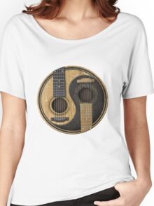Bass Guitar T Shirt - Music Pulse, Notes, Clef, Frequency, Wave, Sound, Dance Women's Relaxed Fit T-Shirt