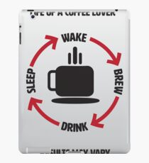Coffee Lover Infographic iPad Case/Skin