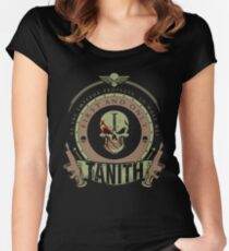 TANITH - BATTLE EDITION Women's Fitted Scoop T-Shirt
