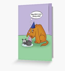 Blind Dog Birthday Greeting Card