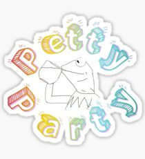 Petty Party Sticker