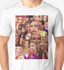 Alyssa Edwards Collage  Unisex T-Shirt