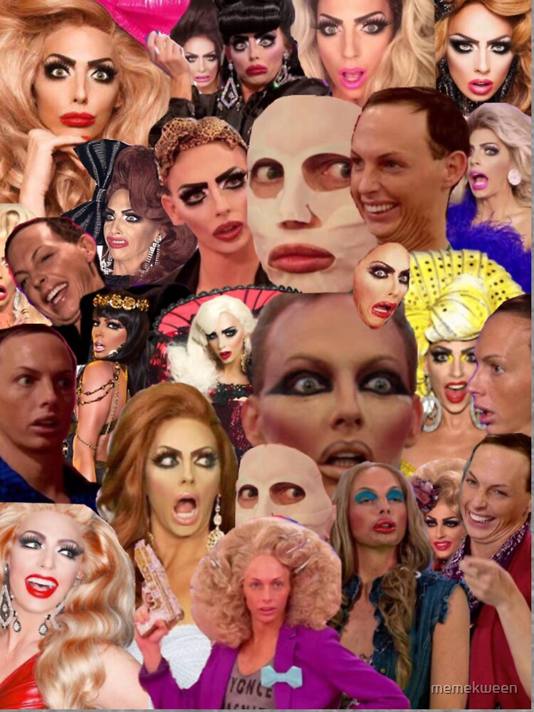 Alyssa Edwards-Collage von memekween