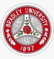 Bradley Red Sticker