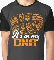 basketball is in my dna t shirt graphic t shirt - Basketball T Shirt Design Ideas