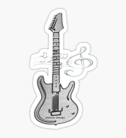 Guitar ( 252 Views) Sticker