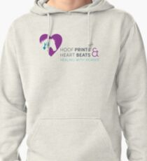 Hoof Prints and Heart Beats -- Color Pullover Hoodie