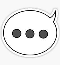 Talk Bubble Emoji Stickers | Redbubble