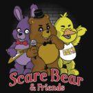 Freddy scare bear by TeeKetch
