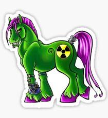 Radioactive Pony Sticker