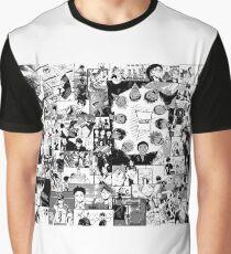 Haikyuu!! Karasuno Collage Graphic T-Shirt