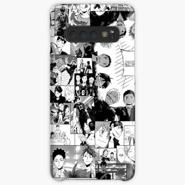 Haikyuu!! Karasuno Collage Samsung Galaxy Snap Case