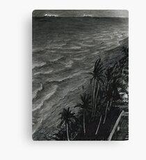Fort Lauderdale, night Canvas Print