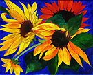 Sunflower Sisters by Anne Gitto