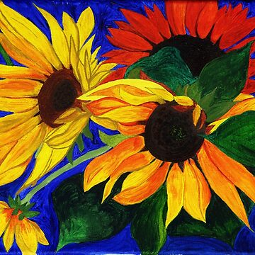 Sunflower Sisters by AnneG