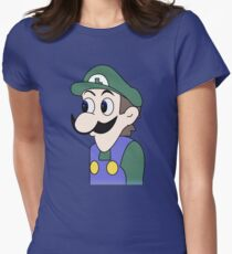 God Emperor Weegee Womens Fitted T-Shirt