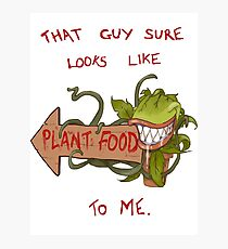 Plant Food Photographic Print