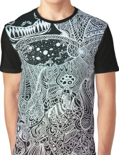 Cosmic Outlook Graphic T-Shirt